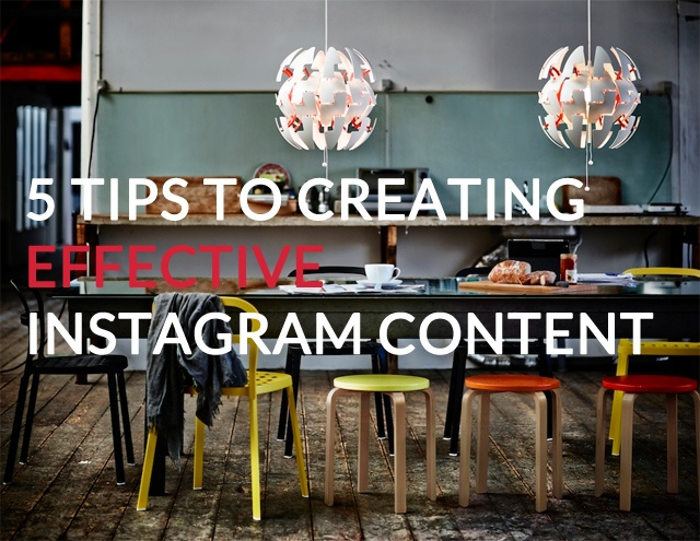 Content Tips From 5 of the Best Brands on Instagram Today