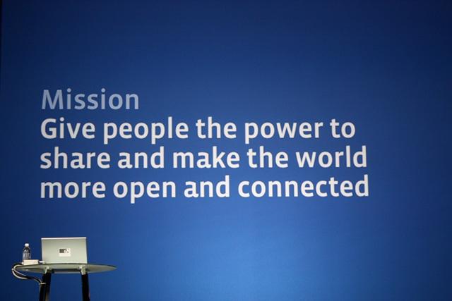Facebook's Mission Statement
