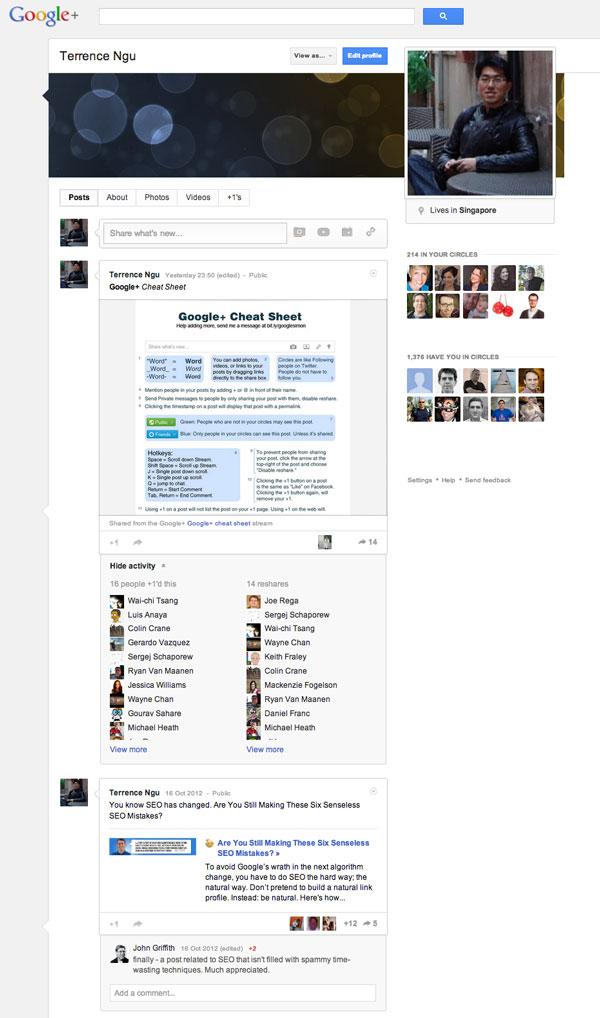 Google+ is fun