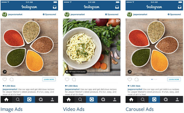 Instagram Ads Format