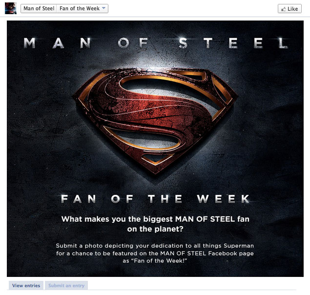 Man of Steel Photo contest