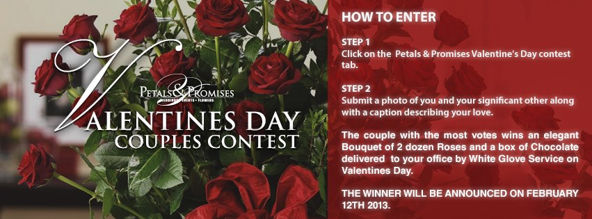 Petals and Promises Photo Contest