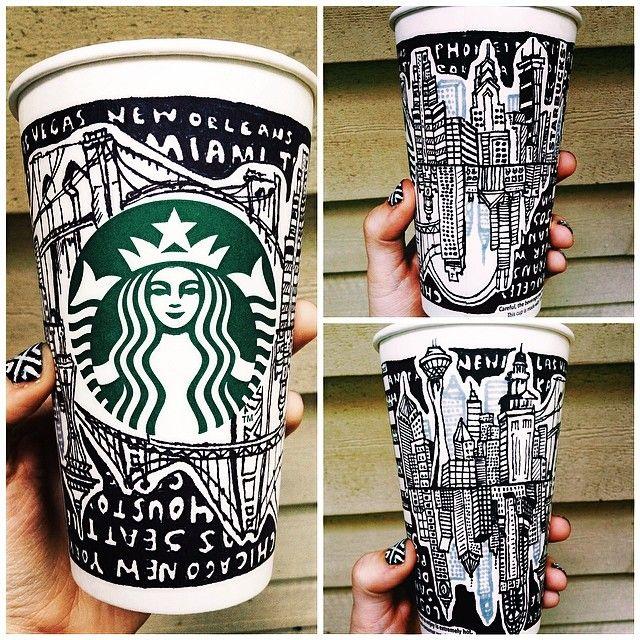 Starbucks Instagram Contest