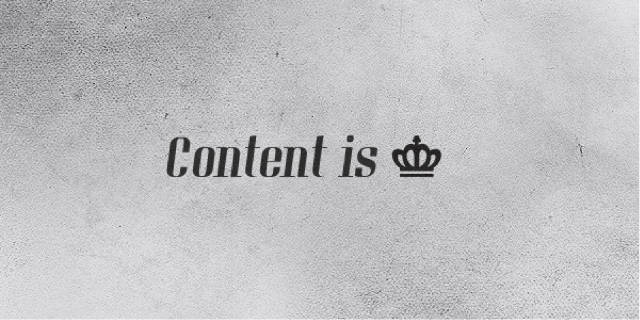 content-is-king