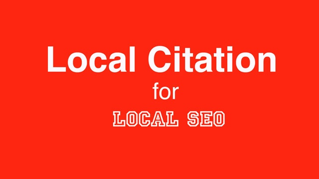 Local SEO and Local Citation