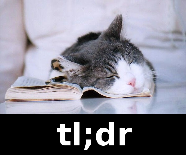 tl;dr definition