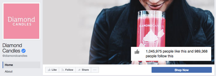 Diamond-Candles-Facebook
